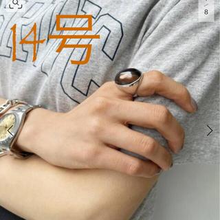 アパルトモンドゥーズィエムクラス(L'Appartement DEUXIEME CLASSE)の【MARIHA】signature Ring L OVALスモーキークウォーツ(リング(指輪))