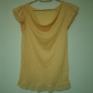 プーラフリーム(pour la frime)のレース&フリル付きTシャツ・フリーサイズ(Tシャツ(半袖/袖なし))