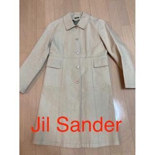 ジルサンダー(Jil Sander)のJil sander navy ジルサンダー コート アイボリー(トレンチコート)
