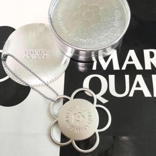 マリークワント(MARY QUANT)のマリークワント  マリーズミニミラー チェーン、収納袋、箱付【未使用】(ノベルティグッズ)