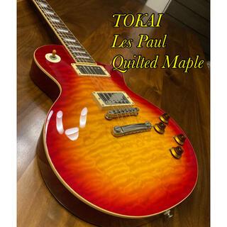ギブソン(Gibson)の【送料込み!美品】TOKAI レスポール Les Paul メイプル(エレキギター)