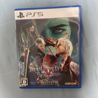 カプコン(CAPCOM)のデビル メイ クライ 5 スペシャルエディション PS5(家庭用ゲームソフト)