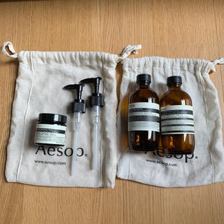 Aesop - イソップ 空き瓶、袋セット