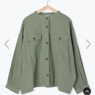 SM2 - SM2  ノーカラーシャツジャケット  未使用品
