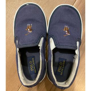 ポロラルフローレン(POLO RALPH LAUREN)のポロ ラルフローレン 靴 スリッポン ネイビー 14cm(スリッポン)