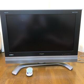 アクオス(AQUOS)の値下げしました SHARP アクオス LCー32BD1 液晶テレビ 送料込み(テレビ)