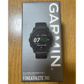 ガーミン(GARMIN)のGARMIN FOREATHLETE 745(ランニング/ジョギング)