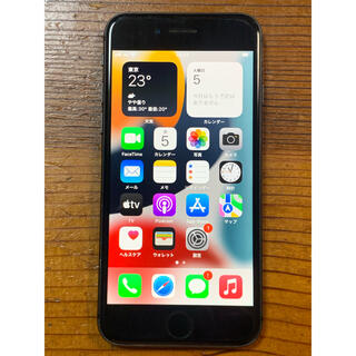 アップル(Apple)のiPhone 8 64GB space gray SIMフリー(スマートフォン本体)