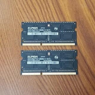 Apple - Apple純正 PC3-12800S 8GB
