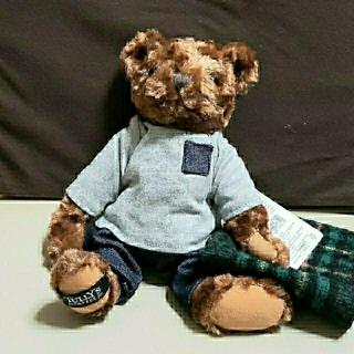 タリーズコーヒー(TULLY'S COFFEE)のタリーズコーヒー 2020' tully'sベア 緑色マント着用 《新品》(ぬいぐるみ)