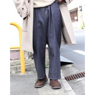 COMOLI - HERILL 20aw cashmere denim tuck 4pk