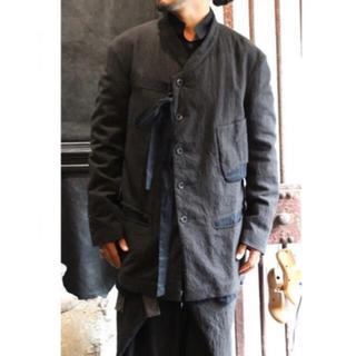 ポールハーデン(Paul Harnden)のZIGGY CHEN 16aw ribboned wool jacket(テーラードジャケット)