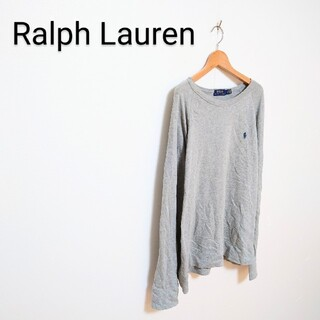 ラルフローレン(Ralph Lauren)の◇Ralph Lauren ワンポイントロゴ刺繍 カットソー(Tシャツ/カットソー(七分/長袖))