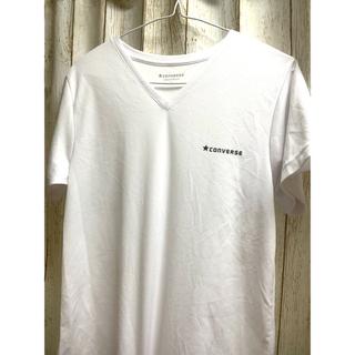 コンバース(CONVERSE)のコンバース VネックTシャツ 半袖(Tシャツ/カットソー(半袖/袖なし))