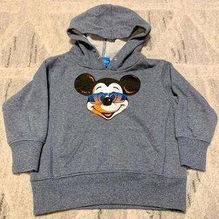 Disney - 100cmサイズ Disney ミッキー 秋冬 キッズパーカー