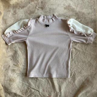 アンクルージュ(Ank Rouge)のAnkRouge 半袖ニット フリーサイズ(カットソー(半袖/袖なし))