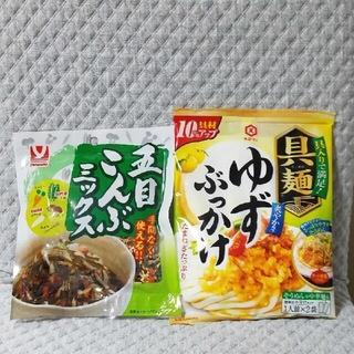 キッコーマン(キッコーマン)の五目こんぶミックス 具麺 ゆずぶっかけ(レトルト食品)