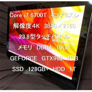 ASUS - Corei7 6700T メモリ16GB SSD120+HDD1T 解像度4K