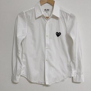 コムデギャルソン(COMME des GARCONS)のコムデギャルソンプレイハートロゴシャツ(シャツ/ブラウス(長袖/七分))