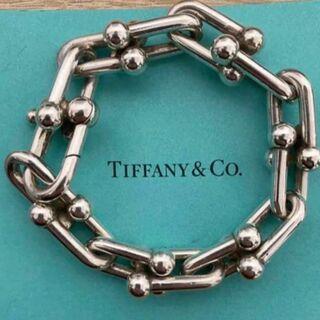 Tiffany & Co. - 美品!Tiffany ティファニー ハードウェア リンク ブレスレット