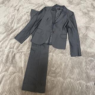 インディヴィ(INDIVI)のインディヴィ パンツスーツ 上下セット グレー 36(スーツ)