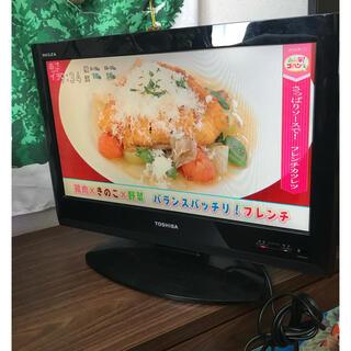 東芝 - テレビ 東芝 REGZA 録画機能付き  19インチ TOSHIBA