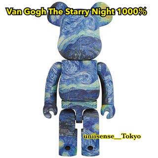 メディコムトイ(MEDICOM TOY)の新品Van Gogh The Starry Night 1000% ベアブリック(その他)