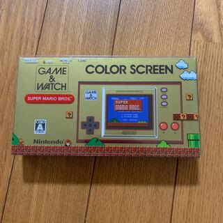 任天堂 - 新品 ゲーム&ウォッチ マリオ
