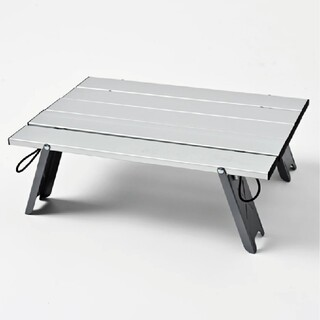 サンリオ(サンリオ)のコンパクトアルミローテーブル(テーブル/チェア)