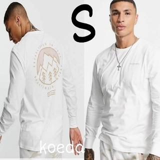 コロンビア(Columbia)のColumbia コロンビア ロンt 長袖 海外限定 ホワイト 白 海外Sサイズ(Tシャツ/カットソー(七分/長袖))
