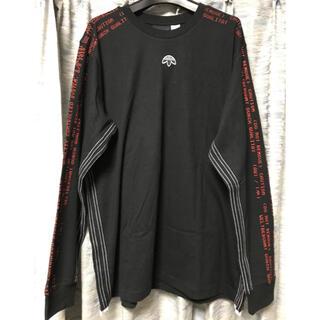 アレキサンダーワン(Alexander Wang)のXL 新品ALEXANDER WANG アレキサンダーワン adidas ロンT(Tシャツ/カットソー(七分/長袖))