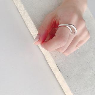 ドゥーズィエムクラス(DEUXIEME CLASSE)のchieko+ チェコプラス シルバーリング 10号(リング(指輪))