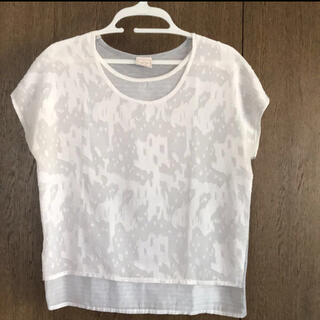 #she mo shelly #ブラウス #Tシャツ #カットソー #チュニック(カットソー(半袖/袖なし))