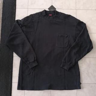 中古 三段鳶 トレーナー スウェット 無地 ブラック 黒 作業服 ワークウェア(スウェット)