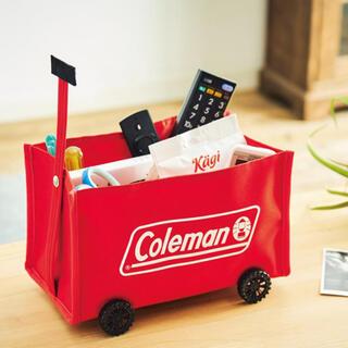 Coleman - MonoMax  Colemanコロコロ動かせるタイヤ付き ミニチュア収納ワゴン