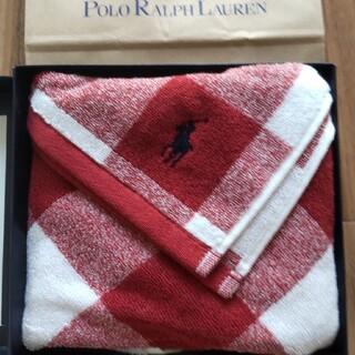 ポロラルフローレン(POLO RALPH LAUREN)のポロラルフローレンフェイスタオルギフトBOX(ショッピングバッグ付き)(タオル/バス用品)