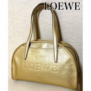 ロエベ(LOEWE)のLOEWE ☆ 美品 ヘリテージ ボーリング バッグ(ボストンバッグ)