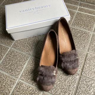 バニティービューティー(vanitybeauty)のvanity beauty ファーパンプス レディース 秋冬(ハイヒール/パンプス)