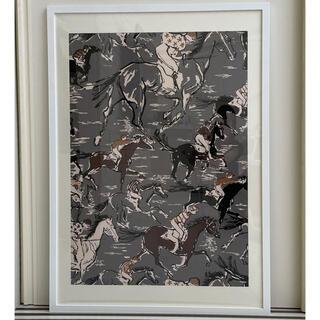 エルメス(Hermes)のエルメス 壁紙 超特大インテリアパネル HERMES ロゴ入り(ウェルカムボード)