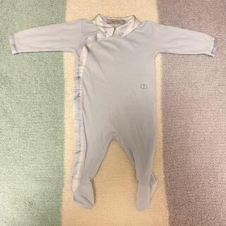ベビーディオール(baby Dior)のbaby Dior 美品ベビーロンパース3m(ロンパース)