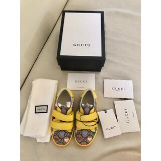 Gucci - GUCCI グッチ 子供靴 キッズ トドラー スニーカー 限定品 希少品 新品