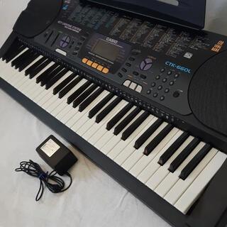 カシオ(CASIO)の【送料無料】光ナビ CASIO 電子キーボードCTK-660L(電子ピアノ)