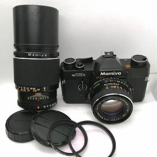マミヤ(USTMamiya)の新品級、完動品 ◉ Mamiya NC1000S 大口径レンズ、望遠レンズ付き (フィルムカメラ)