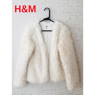 H&M 約150cm ファージャケット
