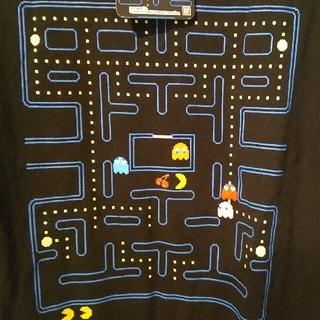 コナミ(KONAMI)のメンズL ④パックマンTシャツ タグ付き未使用 匿名配送(Tシャツ/カットソー(半袖/袖なし))