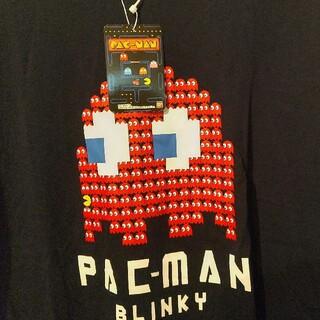 コナミ(KONAMI)のメンズL  ③パックマンTシャツ タグ付き未使用 匿名配送(Tシャツ/カットソー(半袖/袖なし))