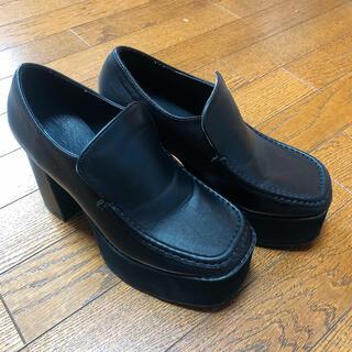 グレイル(GRL)のGRL 厚底ボリュームローファー 23cm(ローファー/革靴)