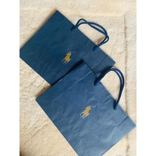 ポロラルフローレン(POLO RALPH LAUREN)のPolo Ralph Laurenショップ袋2点セット(ショップ袋)