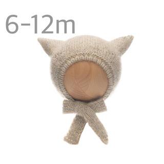 コドモビームス(こども ビームス)のbambolina バンボリーナ kitty ボンネット 6-12m 新品(帽子)