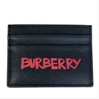 バーバリー(BURBERRY)のBURBERRY バーバリー メンズ カードケース 40740641 黒(名刺入れ/定期入れ)